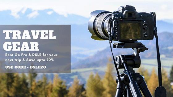 Rent Camera for your next adventurous trip