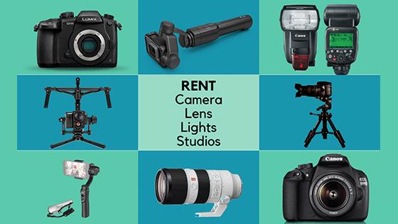 Rent Camera & Lens Kit