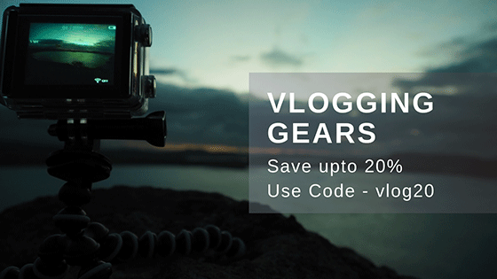 Rent Vlogging DSLR, Lens & Equipments