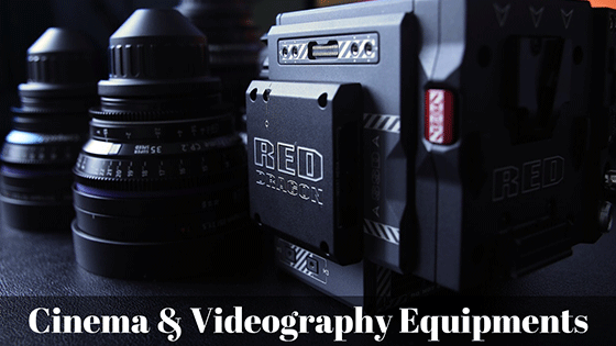 Rent film making and cinema equipments