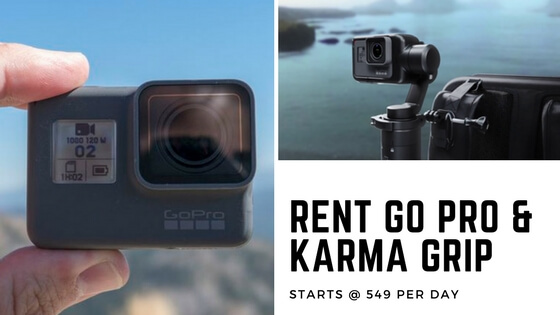 Go Pro On Rent