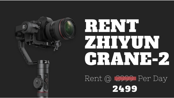 Zhiyun Crane On Rent
