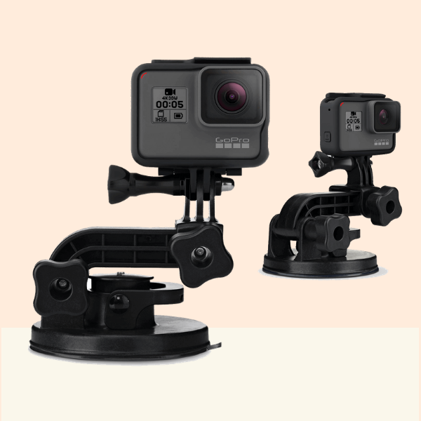 GO Pro Suction Cup Mount On Rent