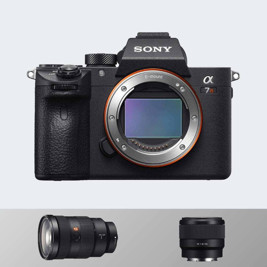 Sony A7R III +24-70 MM (F2.8) +50 MM (1.8)