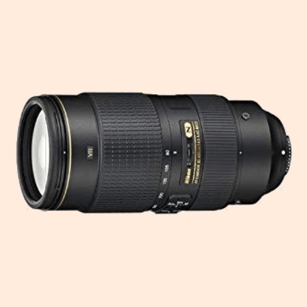 Nikkor 80-400mm f4.5 G ED VR