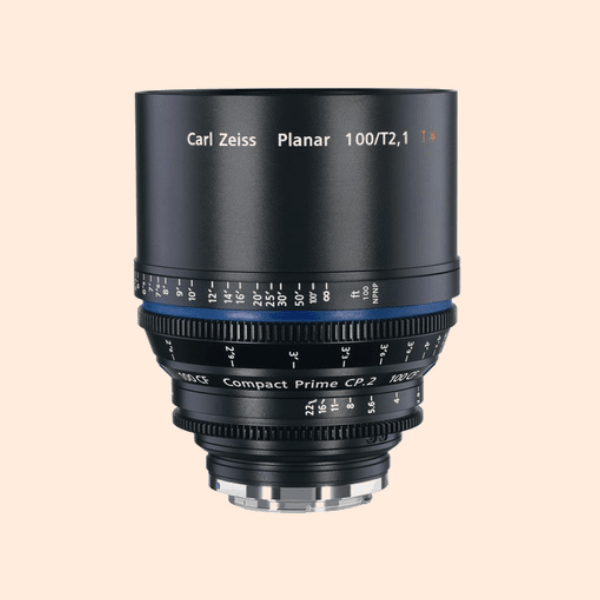 Compact Prime 2 100mm Lens on Rent