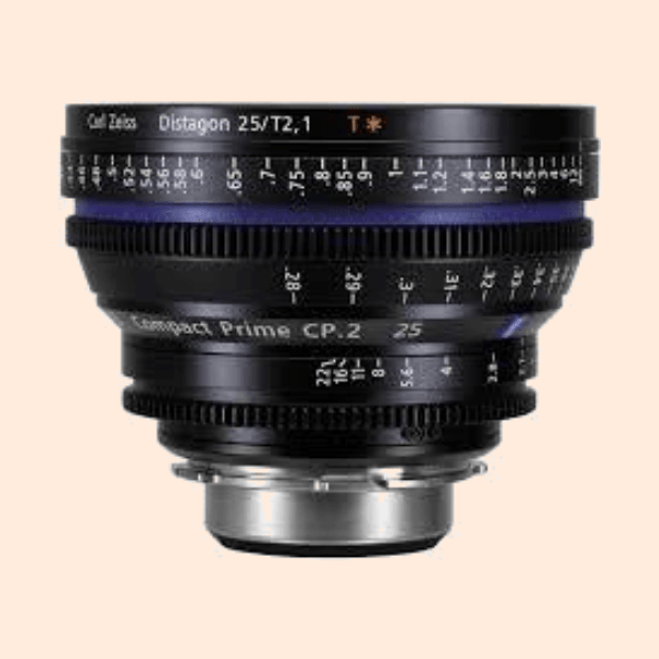 Compact Prime 2 25mm Lens on Rent