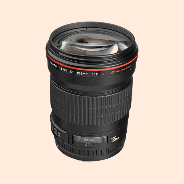 Canon 135 L Series Lens on Rent