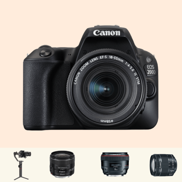 Canon 200D Advanced Kit