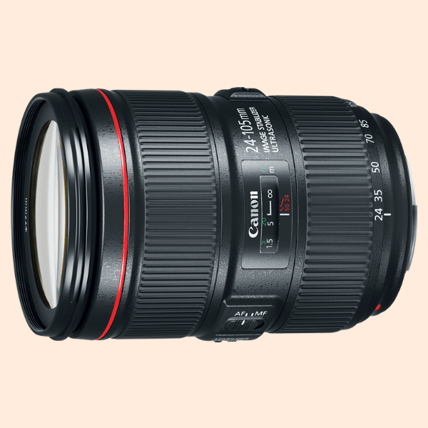 Canon EF 24-105 mm F4.0 IS Lens