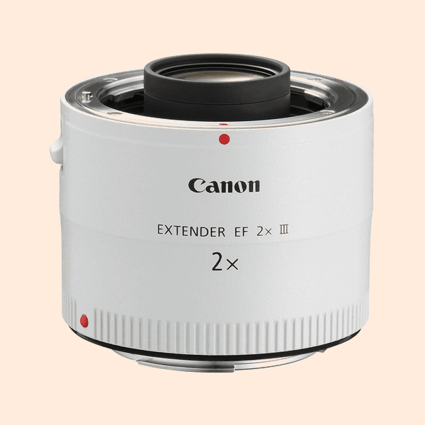 Canon Converter 2X Lens on Rent