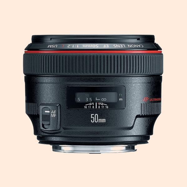 Canon 50 mm 1.2L