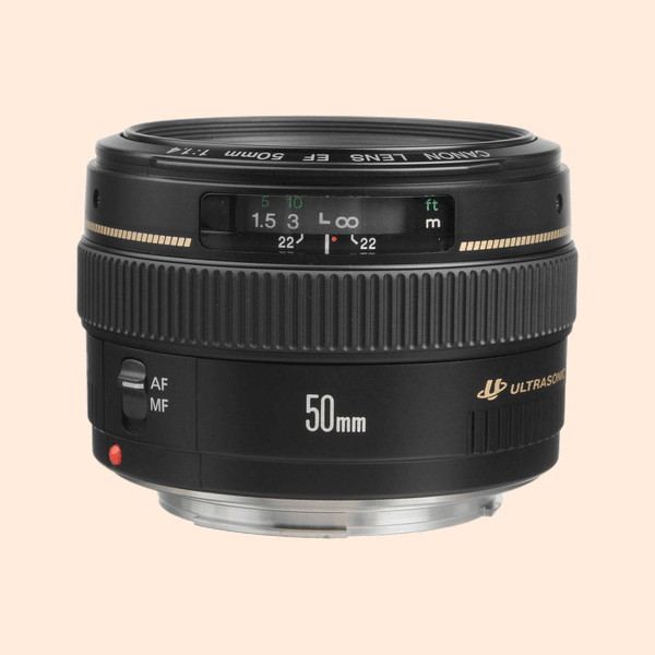 Canon 50 MM L Series 1.4 Lens on Rent