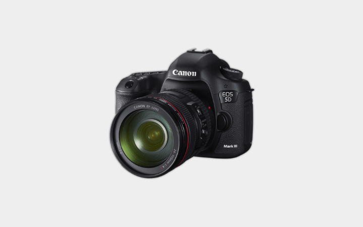 Canon EOS 5D Mark III Camera on Rent
