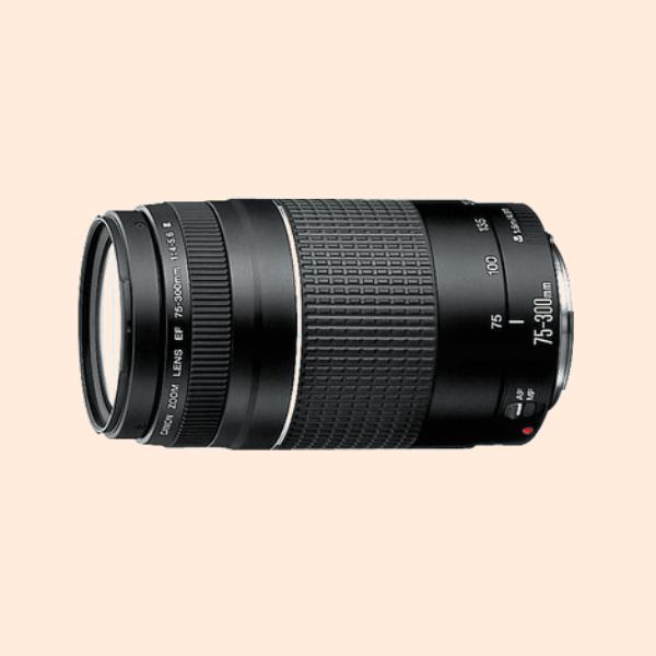 Canon 75-300 Kit lens