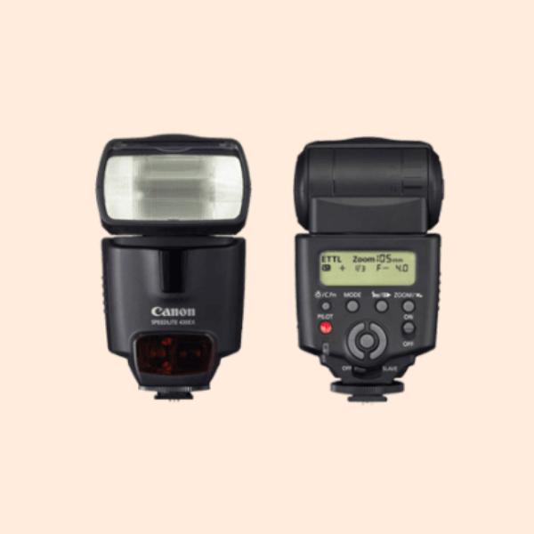 Canon Speedlite 430EX II on Rent