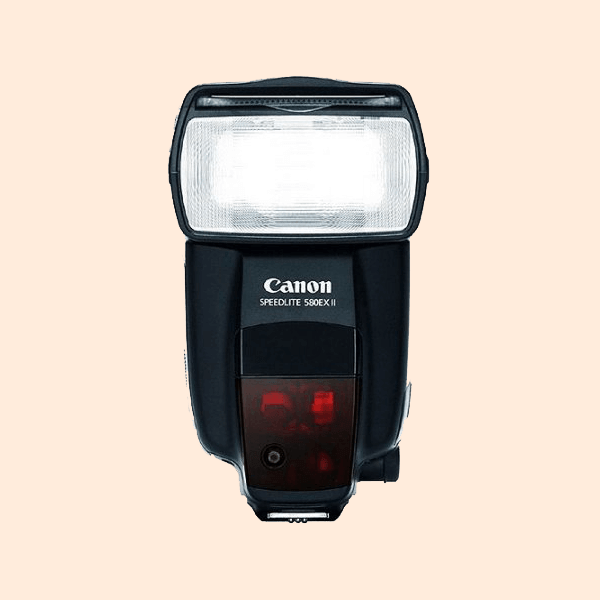 Canon Speedlite 580EX II on Rent