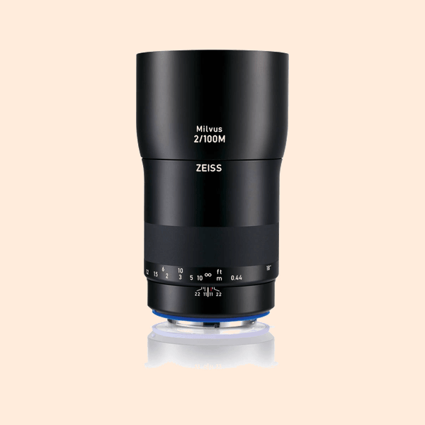 Carl Zeiss ZE 100mm MACRO Lens on Rent