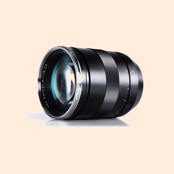 Carl Zeiss ZE 135mm Lens on Rent