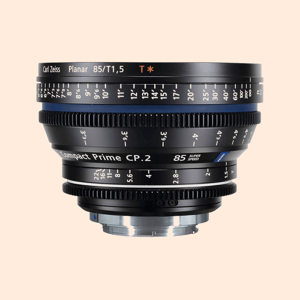 Compact Prime 2 85mm Lens on Rent