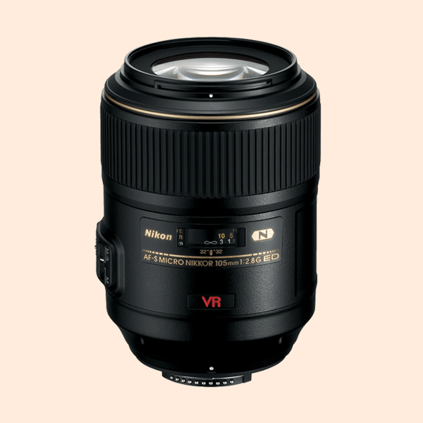Nikon 105mm f/2.8G IF-ED Lens