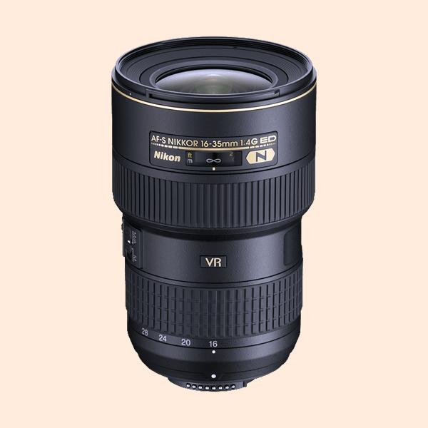 Nikon 16-35mm f/4 ED VR Lens