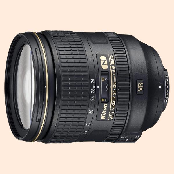 Nikon 24-120mm f/4G ED VR Lens