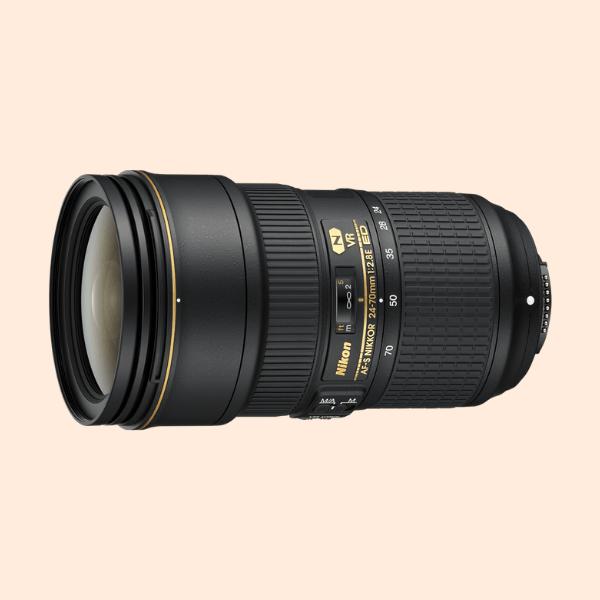 Nikon 24-70mm f/2.8G ED Lens