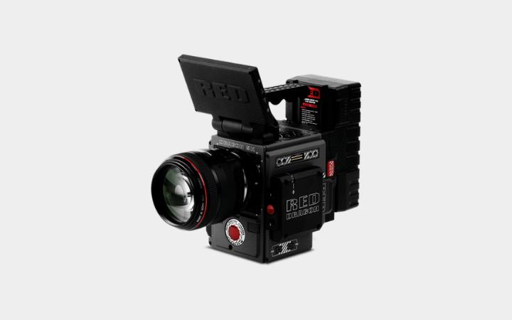 RED Dragon 6k Camera on Rent