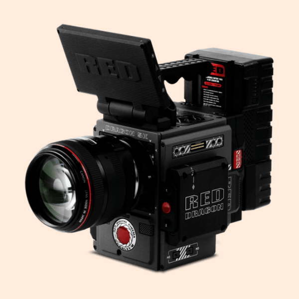 RED Dragon 6k Camera on Rent