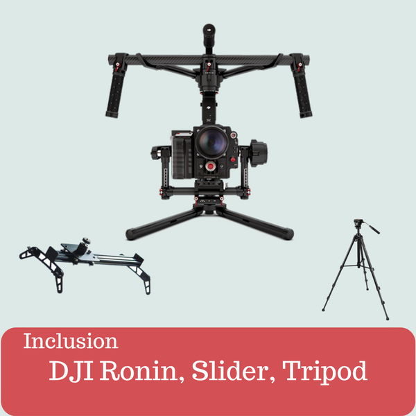 Ronin, Slider, Tripod Kit
