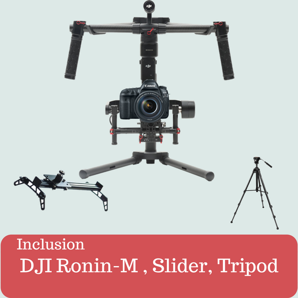 Ronin - M, Slider, Tripod Kit