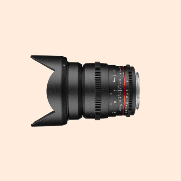 Samyang 24mm Canon Mount T1.5 Cine Lens