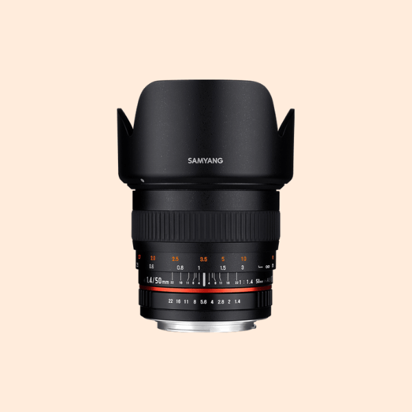 Samyang 50mm f/1.4 AS UMC Canon Mount Lens