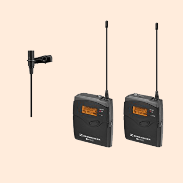 SENNHEISER G3 CORDLESS LEPAL MIC On Rent