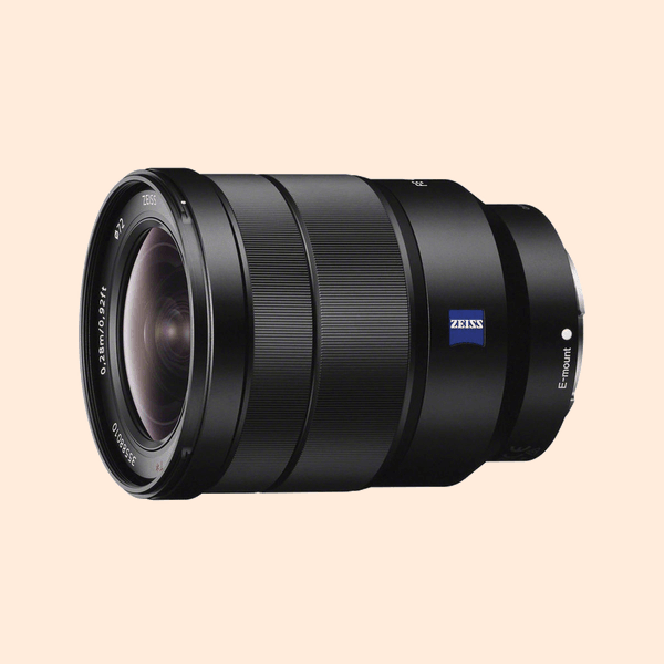 Sony 16-35 F-4 Lens on Rent