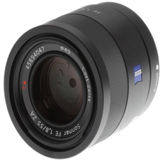 Sony 55 MM f-1.8 Lens on Rent