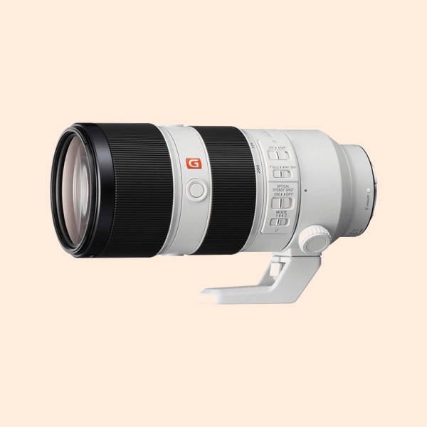 Sony 70-200 G Master F-2.8 Lens on Rent