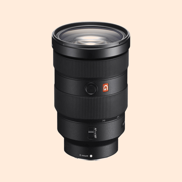 Sony 24-70 G Master F-2.8 Lens on Rent