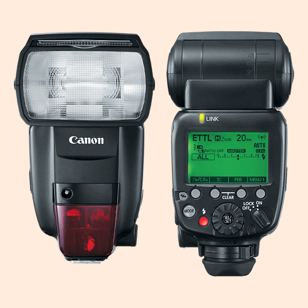 Canon Speedlite 600EX II-RT On Rent