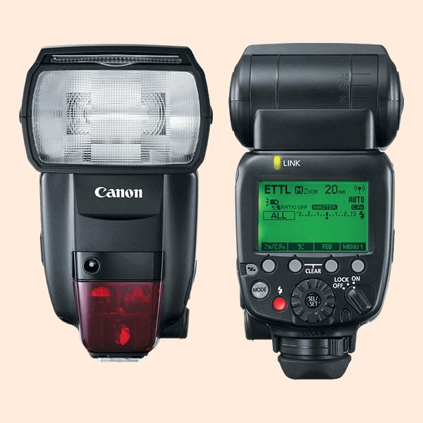 Canon Speedlite 600EX II-RT On Rent