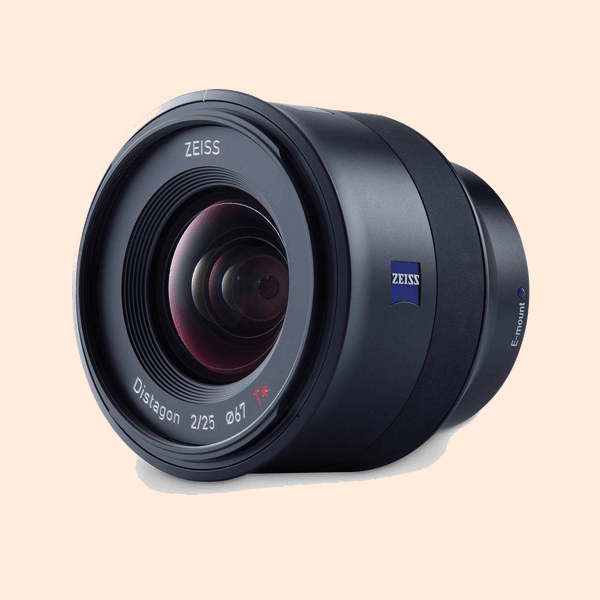 Carl Zeiss Batis 25mm (f-2) E-Mount Lens on Rent
