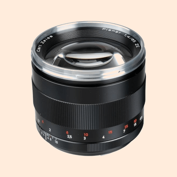 ZEISS Planar T* 85mm f/1.4 ZE Lens