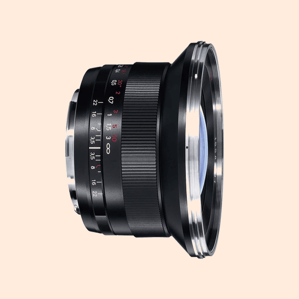 Carl Zeiss ZE 18mm Lens on Rent