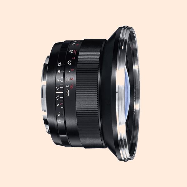Carl Zeiss ZE 18mm Lens on Rent