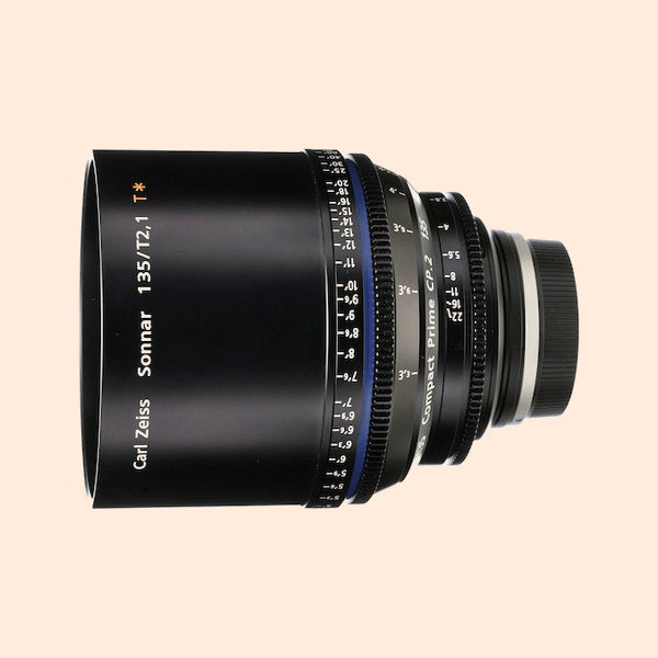 Compact Prime 2 135mm Lens on Rent