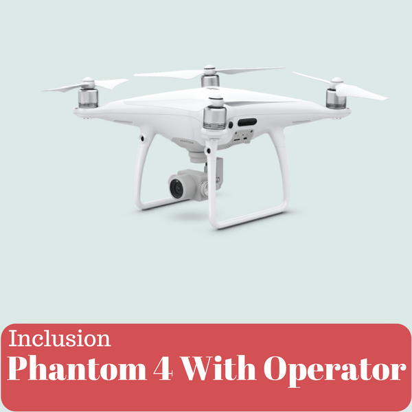 Phantom-4 Drone With Operator