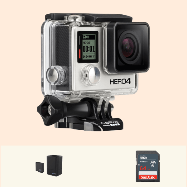 GoPro Hero 4 Black on Rent