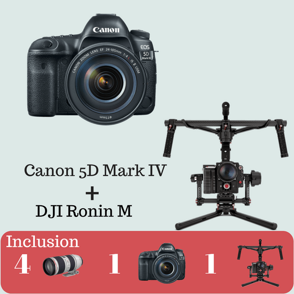 Canon 5D Mark lV Advance Kit on Rent