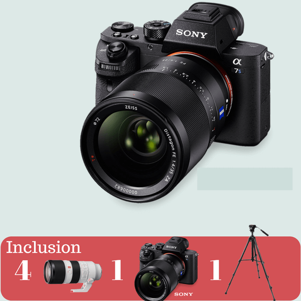 Sony A7 SII Essential Kit on rent